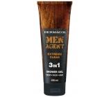 Dermacol Men Agent 3v1 Extreme Clean sprchový gél 250 ml tuba