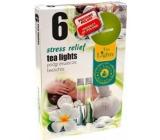Čajové sviečky Tea Lights 6ks Stress Relief 8491