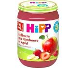 Hipp Ovocie Bio Jablká s jahodami a malinami 190g 3960