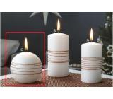 Lima Exclusive sviečka medená guľa 80 mm 1 kus