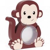 Albi Pokladnička drevená zvieratko Opička 22 x 5 x max 22 cm