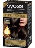 Syoss Oleo Intense Color farba na vlasy bez amoniaku 3-10 Tmavo hnedý