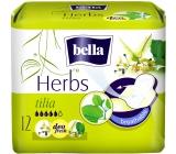 Bella Herbs Tilia intímne aromatizované vložky s krídelkami 12 kusov