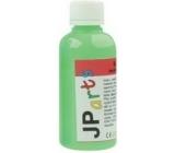 JP arts Farba na textil na svetlé materiály svietiace v tme neón zelená 50 g