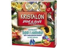 Agro Kristalon Plod a kvet vodorozpustnej univerzálne hnojivo 0,5 kg pre 500 l zálievky