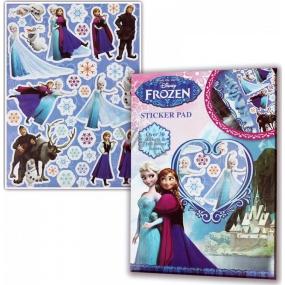 Disney Frozen Sticker Pad zošit s nálepkami