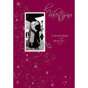 Ditipo Hracie prianie k Valentínovi Je šťastie mať niekoho melódie 224 x 157 mm
