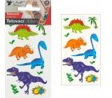 Tetovací obtisky malí dinosauři 10,5 x 6 cm