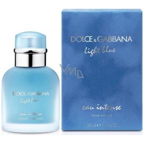 Dolce & Gabbana Light Blue Eau Intense Pour Homme toaletná voda 50 ml