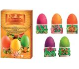 Dekorovanie vajíčok Quilling sada