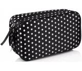 Diva & Nice Polka Dot 1 kozmetická kabelka 19 x 10,5 x 5,5 cm
