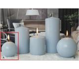 Lima Ice pastel sviečka svetlo modrá guľa 80 mm 1 kus