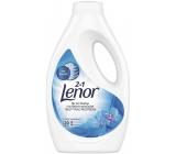 Lenor 2v1 Spring Awakening tekutý prací gél na biele prádlo, ochrana proti zašednutie 20 dávok 1,1 l