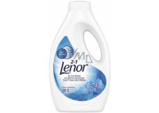 Lenor 2v1 Spring Awakening tekutý prací gel na bílé prádlo, ochrana proti zašednutí 20 dávek 1,1 l