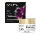Soraya Black Orchid Čierna orchidea + Diamantový prášok krém proti vráskam na deň / noc 40+ 50 ml