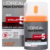 Loreal Paris Men Expert Vita Lift 5 hydratačný krém proti starnutiu pleti 50 ml