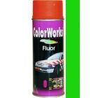 Color Works Fluor 918543 fosforově zelená nitrocelulózový lak 400 ml