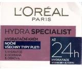 Loreal Paris Hydra Specialist nočný hydratačný krém pre všetky typy pleti 50 ml