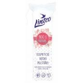 Linteo 100% Natural kozmetické vatové odličovacie tampóny 120 kusov