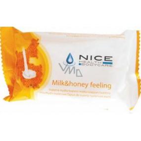 Nice Milk Honey Feeling toaletné mydlo 100 g
