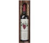 Bohemia Gifts & Cosmetics Merlot Pro babičku červené dárkové víno 750 ml