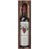 Bohemia Gifts Merlot Pre babičku červenej darčekovej víno 750 ml