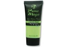 W7 Prime Magic Anti-Redness Primer podkladová báza pod make-up proti začervenaniu 30 ml