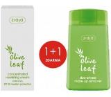 Ziaja Olivové listy SPF 20 vyživující koncentrovaný krém 50 ml + Olivové listy dvoufázový odličovač make-upu 120 ml, duopack