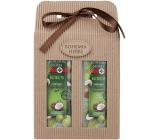 Bohemia Gifts & Cosmetics Kokos zvláčňující sprchový gel 250 ml + šampon na vlasy 250 ml kosmetická sada