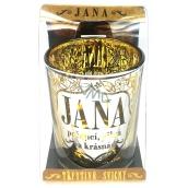 Albi Trblietavý svietnik zo skla na čajovú sviečku JANA, 7 cm