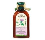 Green Pharmacy Lopúch a Pšeničné protejny kondicionér maska proti vypadávaniu vlasov 300 ml