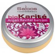 Saloos Bio Karité Argan Revital balzam pre všetky typy pleti 19 ml