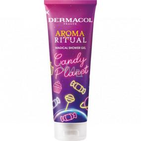 Dermacol Aroma Ritual Candy Planet magický sprchový gél 250 ml
