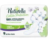 Naturella Cotton Protection Ultra Night hygienické vložky s krídelkami 9 kusov