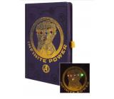Epee Merch Marvel Avengers - Infinity War Blok A5 14,8 cm x 21 cm premium LED svietiace