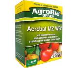 Acrobat MZ WG fungicíd proti plesni révové, zemiakové, paradajkové, uhorkové a cibuľové 4 x 20 g