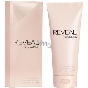 Calvin Klein Reveal tělové mléko pro ženy 200 ml