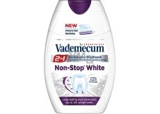 Vademecum Non-Stop White 2v1 zubná pasta a ústna voda v jednom 75 ml