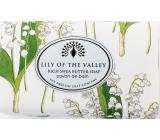 English Soap Konvalinka z údolia prírodné parfumované mydlo s bambuckým maslom 190 g