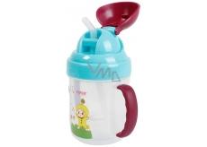 Baby Farlin Magic Cup hrnček netečúci sa slamkou 9+ mesiacov 200 ml AET-CP011-C