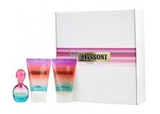 Missoni Missoni toaletná voda pre ženy 5 ml + sprchový gél 25 ml + telové mlieko 25 ml, darčeková sada