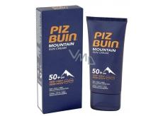 Piz Buin Mountain Suncream SPF50 + hydratačný krém chráni pokožku pred slnkom, chladom a suchým vetrom 50 ml