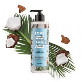 Love Beauty & Planet Kokosová voda a kvety Mimózy hydratačné telové mlieko 100 ml