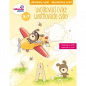 Ditipo Stierateľný zošit Uvoľňovacie cviky pre deti 5-7 rokov 16 strán 215 x 275 mm