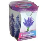 Admit Verona Lavender - Levanduľa vonná sviečka v skle 90 g