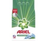 Ariel Mountain Spring prací prášok pre čisté a voňavé bielizeň bez škvŕn 36 dávok 2,7 kg