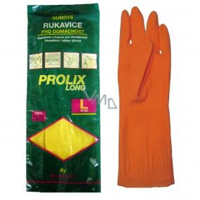 Bartoň Prolix Rukavice gumené ochranné veľkosť L 1 pár