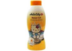 Hello Kitty Milk & Honey Mŕtve more sprchový gél s minerálmi pre deti 750 ml