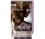 Schwarzkopf Color Expert barva na vlasy 6.65 Zlatě čokoládový
