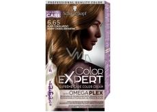Schwarzkopf Color Expert farba na vlasy 6.65 Zlate čokoládový
